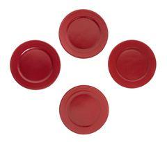 Sada plastových talířů, 13 cm