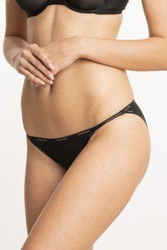 Průsvitné kalhotky string bikini Sheer Marquisette