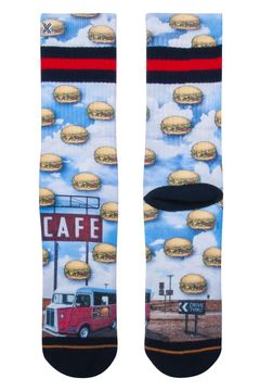 Ponožky Burgercity