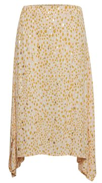 Asymetrická midi sukně Carla