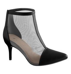 Kotníkové boty na jehlovém podpatku