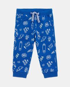 Teplákové kalhoty s potiskem