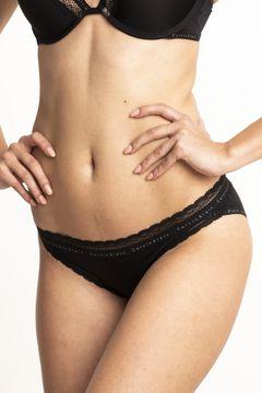 Kalhotky bikini z mikrovlákna Signature