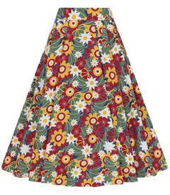 Sukně Astrid Tropical Floral