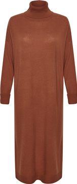 Midi vlněné šaty Ele