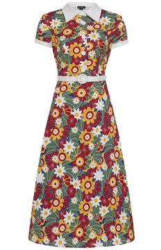 Šaty Nia Tropical Floral