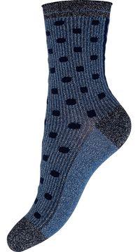 Dámské třpytivé ponožky se vzorem