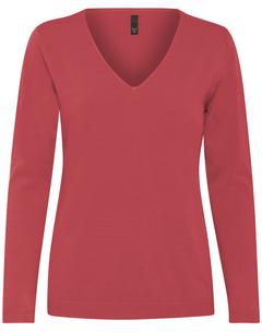 Dámský pulover s výstřihem do V Sara