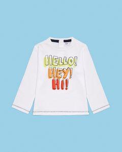 Tričko s dlouhým rukávem Hello