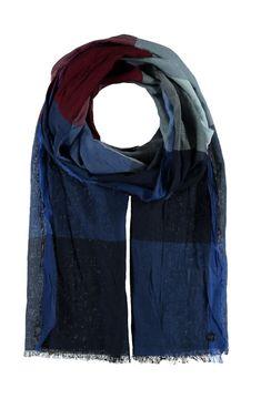 Bavlněný kostkovaný šál