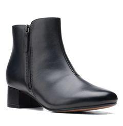 Kotníkové boty na širokém podpatku Marilyn Beth