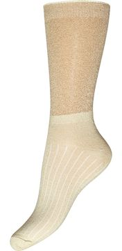Dámské vysoké třpytivé ponožky