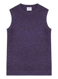 Dámský svetr bez rukávů
