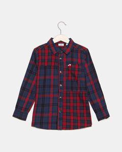 Chlapecká kostkovaná košile