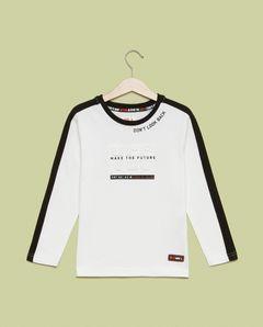 Chlapecké tričko s dlouhým rukávem Yes