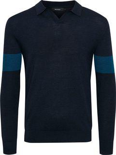 Vlněný pullover s límečkem Halon