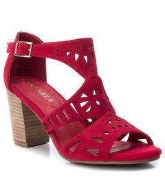 Dámské sandály na širokém podpatku