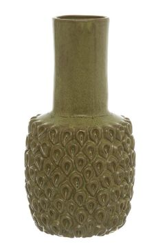 Keramická ručně vyráběná váza, 22 cm