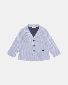 Pruhované sako pro chlapečka