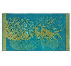 Plážová osuška Ananas 170x90 cm
