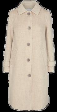 Dámský kabát s příměsí vlny Amora