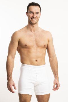 Pánské boxerky s dlouhou nohavičkou Grey Box Program