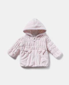 Kojenecká bunda s kapucí