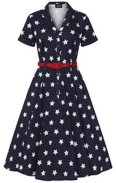 Košilové šaty Caterina Stars
