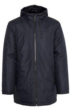 Pánská dlouhá bunda s kapucí