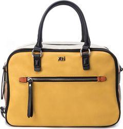 Prostorná kabelka do ruky s odepínací popruhem