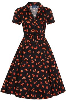 Košilové šaty s kolovou sukní Caterina Acorn