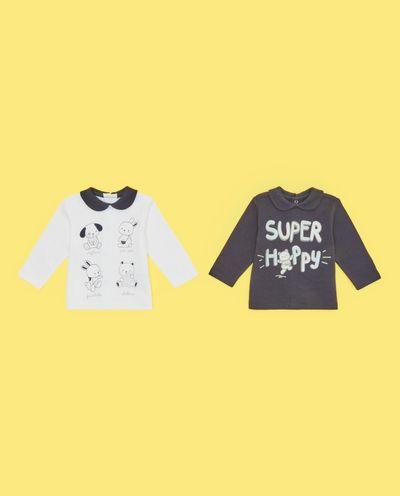 Tričko z čisté novorozenecké bavlny, 2-pack