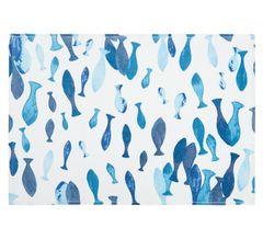 Velurový ručník Pesci, 50x100 cm