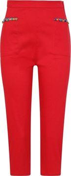 Třičtvrteční capri kalhoty Alex Pom Pom