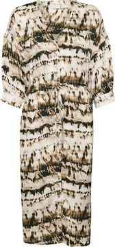 Košilové midi šaty Tia