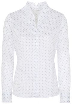 Puntíkovaná košile se stojáčkem