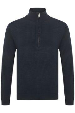 Pánský vlněný svetr s rolákem Mas