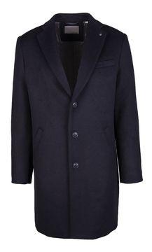 Pánský kabát s příměsí vlny