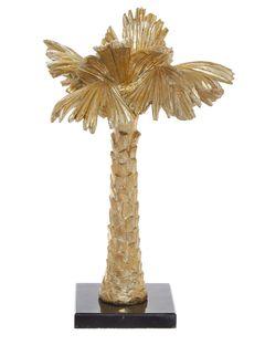 Interiérová dekorace palma, 36 cm