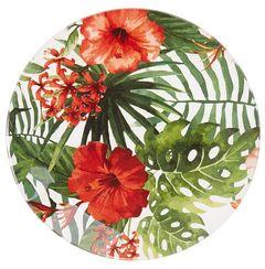 Skleněný talíř Floreale, 15 cm