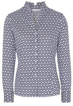 Vzorovaná košile se stojáčkem