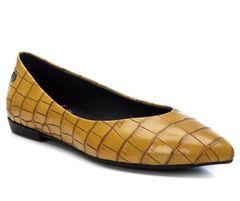 Baleríny s imitací krokodýlí kůže