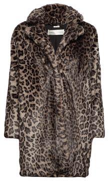 Kožíšek s leopardím vzorem Sallie