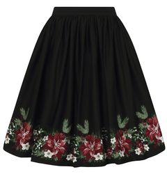 Kolová sukně Jasmine Festive Floral