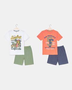 Chlapecké pyžamo, 2-pack
