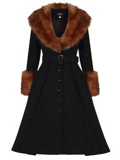Kabát s příměsí vlny Jackie Princess
