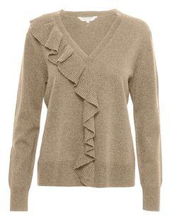 Vlněný svetr s kašmírem Natty