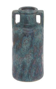 Keramická ručně vyráběná váza, 28 cm