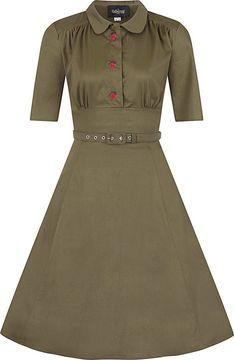 Šaty s kolovou sukní Doriane Strawberry