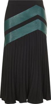 Plisovaná midi sukně Tess